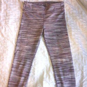 athleta girl striped leggings
